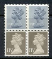 GB 1981 Machin 11.5px2 Drab CB, 14px2 Grey Blue 2B Booklet Pane MUH - 1952-.... (Elizabeth II)