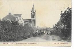 SART-D'AVRIL  L' église, Bâtie En 1870 Style Gothique. - Eghezée
