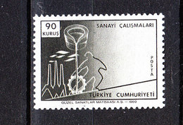 Turchia  -  1969.  Sviluppo Dell' Industria. Industry Development. MNH - Fabbriche E Imprese