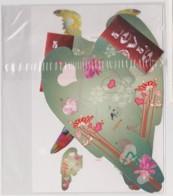 PUZZLE LEVIS - JEANS LEVI STRAUSS, OISEAU, NATURE, ART -  CPM TBon Etat (voir Scan) - Advertising