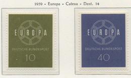 PIA - CEPT - 1959 - GERMANIA - (Yv 193-94) - Nuovi