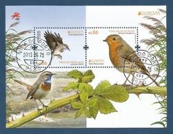 Portugal  2019 , EUROPA CEPT Birds - Aves Nacionals - Block / Sheet - Gestempelt / Fine Used / (o) - 2019