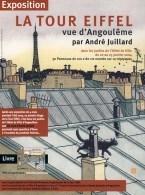 JUILLARD : Carte PRESENTATION De L'expo 36 VUES DE LA TOUR EIFFEL - Juillard