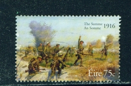 IRELAND  -  2006 Battle Of The Somme 75c Used As Scan - 1949-... Republic Of Ireland