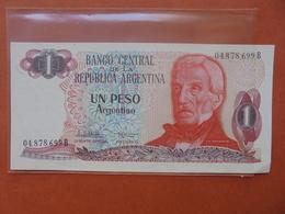 ARGENTINE 1 PESO 1983-84 PEU CIRCULER/NEUF - Argentine