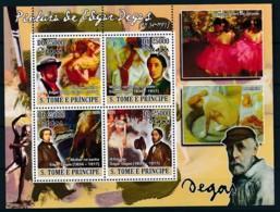 D - [400681]TB//**/Mnh-Sao Tomé-et-Principe 2009 - Edgar Degas, Tableau - Peinture - Art - Künste