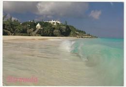 AK Bermuda Prints. Windsor Beach, Tuckers Town. Postalisch Gelaufen Nach Düsseldorf. 2 Scans. 14,9 X 10,4 Cm - Bermuda
