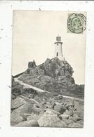 Cp, Royaume Uni ,  JERSEY ,  CORBIERE LIGHTHOUSE ,  Voyagée 1908, N° 06529 - Jersey