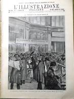 L'illustrazione Italiana 30 Gennaio 1916 WW1 D'Annunzio Ricordi Miraglia Gorizia - Guerra 1914-18