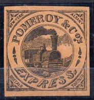 Sello Pomeroy Express Train. - Treni