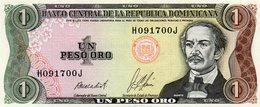 MEC.62 / RÉP. DOMINICAINE / 1 PESO ORO 1987 DUARTE UNC - Dominicana