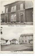 SAINT-MARTIN  Maison Communale Et La Place. - Sombreffe