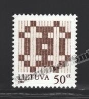 Lituanie – Lithuania – Lituania 1998 Yvert 575, Definitive, Type Of 1997 - MNH - Litauen