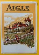 10706 - Aigle Suisse Ancienne étiquette - Etiquettes