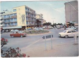 Argeles-sur-Mer: FORD TAUNUS P5, SIMCA 1500, ARONDE, 1000, CITROËN AMI 6, DS BREAK - Le Rond Point De La Sardane - Voitures De Tourisme