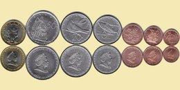 COOK ISLANDS 2010 Set 7 Coins  UNC #G - Cookinseln