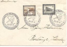 1937 Semaine Internationale Des Sports D'Hiver: Garmisch-Partenkirchen: Hockey Sur Glace - Jockey (sobre Hielo)