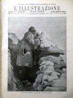 L'illustrazione Italiana 13 Febbraio 1916 WW1 Marconi Barbiere Siviglia Benelli - Guerra 1914-18