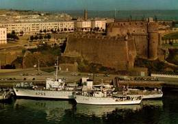 CPM - BREST - Bateaux Mission Hydrographique à Quai ... - Guerre