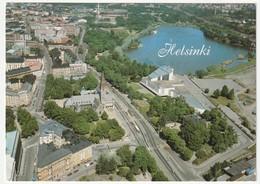 AK Finnland Helsinki. Kansallismuseo. National Museum. 1995 Postalisch Gelaufen Nach Düsseldorf. 2 Scans 14,8 X 10,5 Cm - Finnland