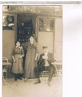 A Identifier  Carte Photo  Comptoir  OU ? ID77 - Postcards