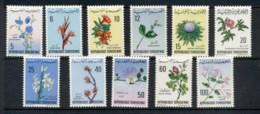 Tunisia 1968-69 Flowers MLH - Tunisia