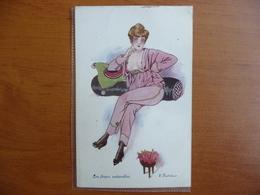CPA - F. Fabiano - Les Fleurs Naturelles - Les Petites Superstitions - Delta Série 25, 128 - érotique - Fabiano