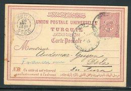 Turquie - Entier Postal De Salonique Pour La France En 1893 -  Réf J178 - Covers & Documents