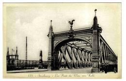 67 Strasbourg N°159 Les Ponts Du Rhin Vers Kehl édition Heinrich - Straatsburg