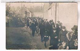 A Identifier Carte  Photo Ceremonie Enterrement 1925 Moury Charles OU ? ID80 - Postcards