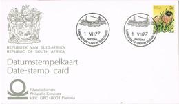 33245. Tarjeta PRETORIA  (RSA) South Africa 1977. Union Building - Cartas