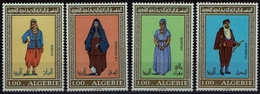 Algerie Algerien 1975 - Trachten  Folf Costume - MiNr 644-647 - Kostüme