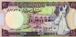 MEC.62 / CENTRAL BANK OF SYRIA / 10 POUNDS 1991 / UNC - Siria