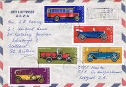 33246. Carta Aerea Certificda MOSCU (Rusia) 1974. Auto Stamp - 1923-1991 URSS