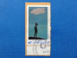 1995 COSTA RICA ANNIVERSARIO NACIONES UNIDAS 5 C FRANCOBOLLO USATO STAMP USED - Costa Rica