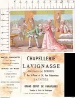 CHROMOS. Chapellerie  LAVIGNASSE (Saintes).  Mme FAVART. ..D851 - Autres