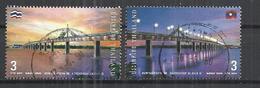 THAILAND 2006 -  INAUGURATION 2nd THAI-LAOS FRIENDSHIP BRIDGE - CPL. SET - OBLITERE USED GESTEMPELT USADO - Ponts