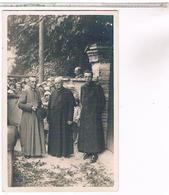 A Identifier  Carte  Photo   Cures Et Enfants    OU ? ID93 - Postcards