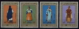 Algerie Algerien 1972 - Trachten  Folf Costume - MiNr 595-598 - Kostüme