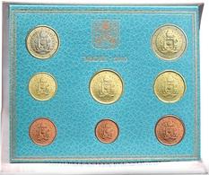 VATICAN EURO COIN SET 2019 - 8 Coins - BU Quality - Vatican