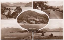 Postcard Onich Multiview RP  My Ref  B13364 - Scotland
