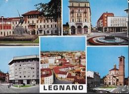 LOMBARDIA - LEGNANO - VEDUTE - VIAGGIATA 1970 FRANCOBOLLO ASPORTATO - Legnano