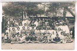A Identifier  Carte  Photo  Famille Colonie De Vacances ,  OU ? ID95 - Postcards