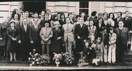 NEVELE -- FOTO 1973   +- 14 X 8  CM  ---   GOUDEN BRUILOFT    MAURICE DE KEYZER - Nevele