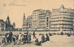 CPA - Belgique - Oostende - Ostende - Un Coin De La Plage Et Les Hôtels - Oostende