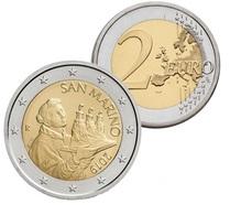 SAN MARINO 2 Euro Münze 2019 - Neues Motiv - UNC - San Marino