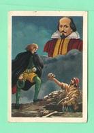 Figurine PANINI Bisvalida Serie UOMINI ILLUSTRI Nr. 169 W. Shakespeare 1967 - Edizione Italiana