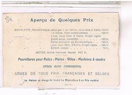 A Identifier    Photo  Publicite Et Prix  Cycles Et Machines A Coudre  Alcyon ,  OU ? ID84 - Postcards