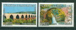 AC - TURKEY STAMP -  HISTORICAL BRIDGES MNH 10 APRIL2014 - Unused Stamps