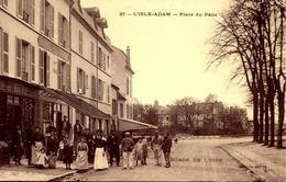 > [95] Val D'Oise > L'Isle Adam :place  Du Patis   : Hotel Du Patis Ttbe  / TRES RARE - L'Isle Adam